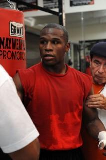Floyd Mayweather Jr // Flag Day Celebration at Floyd Mayweather Jr\'s Las Vegas Boxing Gym