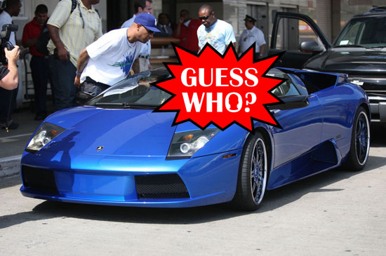 Guess Who?!: Cruising the Streets of Los Angeles in a Blue Lambo
