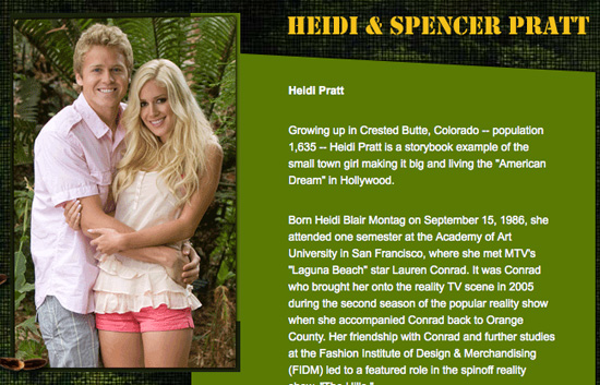 Newlyweds Heidi Montag & Spencer Pratt