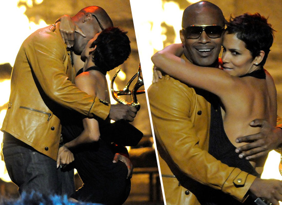 Jamie Foxx & Halle Berry at Spike TV's 2nd Annual Guy's Choice Awards