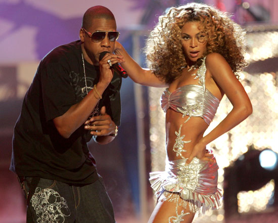 Jay-Z & Beyonce perform at the 2006 BET Awards