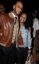 Swizz Beatz & Teyana Taylor // James Cruz\' birthday party at Taj