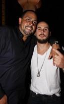 "James Cruz & Joshua \""White Boy\"" Gallander // James Cruz\' birthday party at Taj"