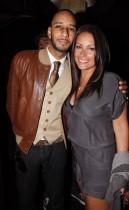 Swizz Beatz & Angie Martinez // James Cruz\' birthday party at Taj