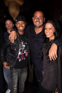 Terrence J, James Cruz & Rocsi Diaz // James Cruz\' birthday party at Taj