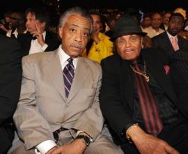Joe Jackson & Rev. Al Sharpton // 2009 BET Awards (Audience)
