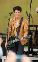 Nick Jonas of the Jonas Brothers The Jonas Brothers // ABC\'s Good Morning America (June 12th 2009)