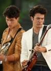Nick & Kevin Jonas of The Jonas Brothers The Jonas Brothers // ABC's Good Morning America (June 12th 2009)