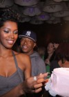 Jessica White & Russell Simmons // Jessica White's 25th Birthday Party at Mr. West in NYC
