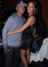 Russell Simmons & French model Noemie Lenoir // Jessica White's 25th Birthday Party at Mr. West in NYC