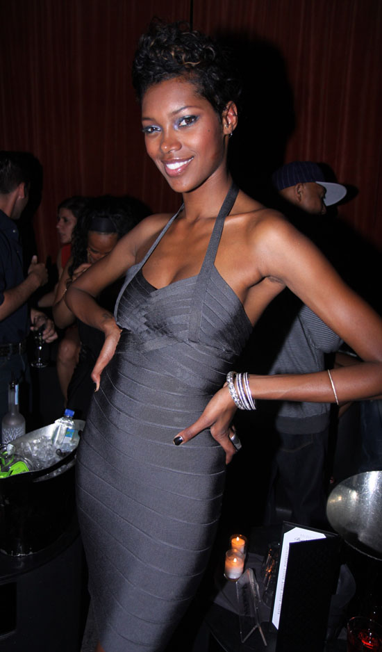 Supermodel Jessica White // Jessica White's 25th Birthday Party at Mr. West in NYC