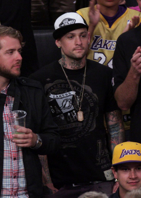 Benji Madden // Laker vs. Magic Game (NBA Finals Game One) in Los Angeles - June 4th 2009