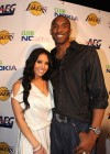 Kobe Bryant and his wife Vanessa // Los Angeles Lakers Victory Party at Club Nokia