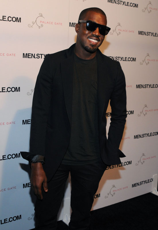 Kanye West // Men.Style.Com's 3rd Annual Women of Fashion Event