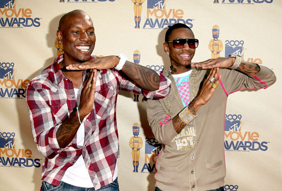 Tyrese & Soulja Boy // 2009 MTV Movie Awards