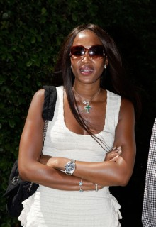 Naomi Campbell // MOCA New Luncheon at the Venice Biennale 2009