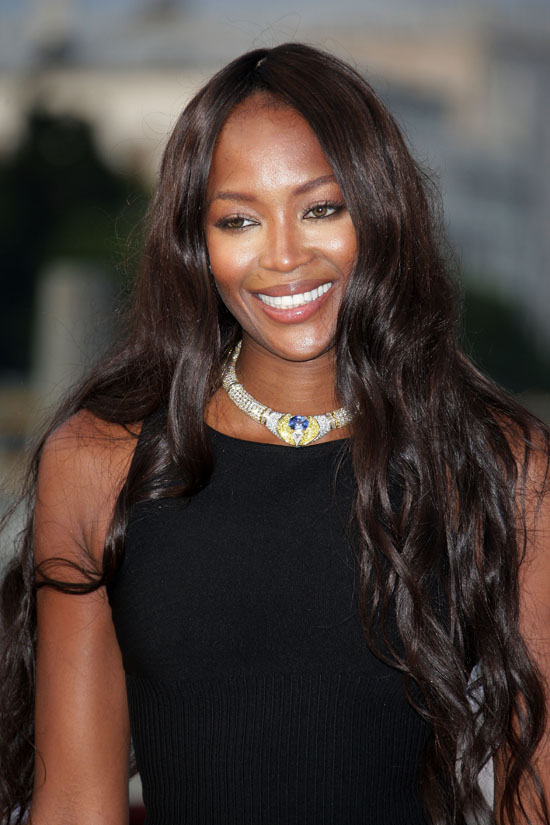 Naomi Campbell // Opening of the New Contemporary Art Centre