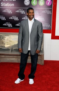Denzel Washington // Premiere of Taking of Pelham 1, 2, 3 in Hollywood