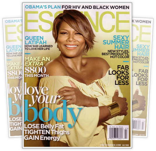 Queen Latifah // July 2009 Essence Magazine