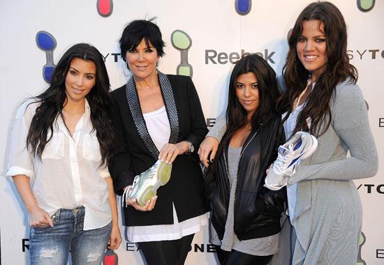 Kim Kardashian, Kris Jenner, Kourtney Kardashian and Khloe Kardashian // Reebok EasyTone Footwear Celebration