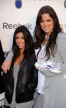 Kourtney & Khloe Kardashian // Reebok EasyTone Footwear Celebration