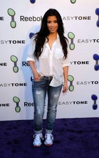 Kim Kardashian // Reebok EasyTone Footwear Celebration