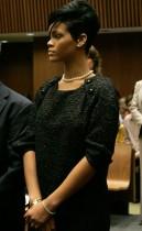 Rihanna in LA Superior Court (June 22nd 2009)