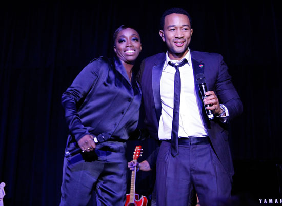 Kelis & John Legend performing // Samsung\'s 8th Annual Season of Hope Gala