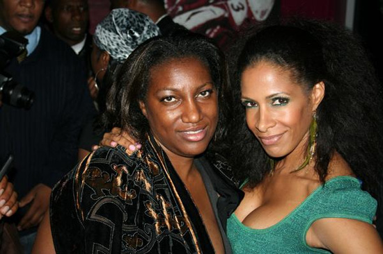 Sheree Whitfield (right) & Sheila Rashad (left)