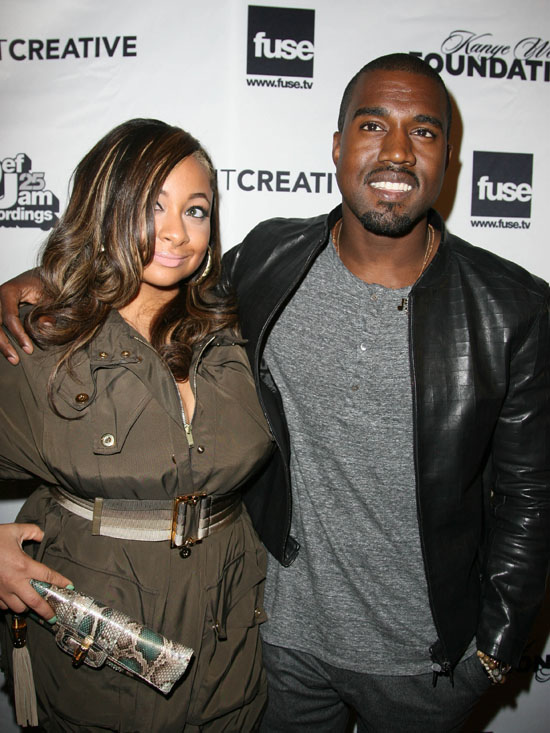 Raven Symone & Kanye West // Kanye West S.H.O.W.S Up Stay in School Benefit in Chicago
