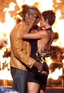 Jamie Foxx & Halle Berry // 2009 Spike TV Guys' Choice Awards
