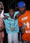 DJ Webstar, Soulja Boy & Ron Browz // Hot 97 Summer Jam 2009 (backstage)