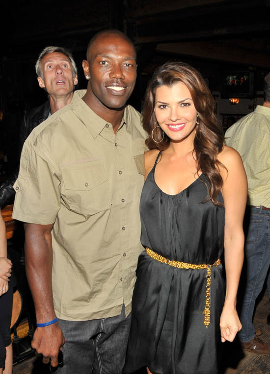 "Terrell Owens & Ali Landry // Premiere Party for ABC's ""The Superstars"""