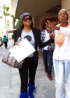 Taraji P. Henson leaves medical building in Los Angeles (June 8th 2009)