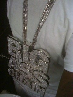 "T-Pain's ""Big A** Chain"""