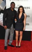 Reggie Bush & Kim Kardashian // Transformers 2: Revenge of the Fallen premiere in Hollywood