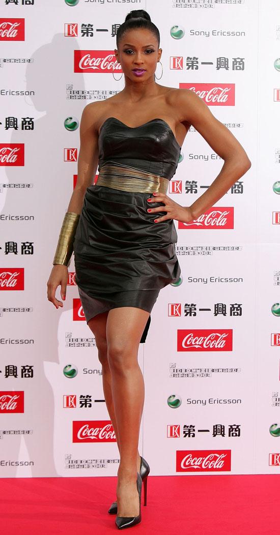 Ciara // 2009 MTV Video Music Awards Japan (Red Carpet)
