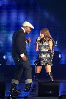 Sean Garrett & BoA // 2009 MTV Video Music Awards Japan