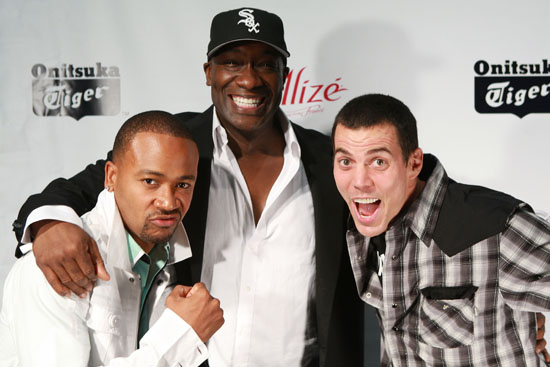 Columbus Short, Michael Clarke Duncan & Steve-O // 11th Annual Young Hollywood Awards