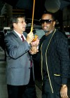 Diddy outside the Ed Sullivan Theater in NYC (July 23rd 2009)