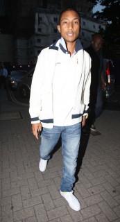 Pharrell Williams  at Nobu Mayfair in London, England (June 30th 2009)