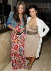 Khloe & Kim Kardashian // Private Dinner for the Diamond Empowerment Fund