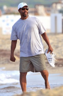 Denzel Washington at Nikki Beach in St. Tropez, France (July 4th 2009)