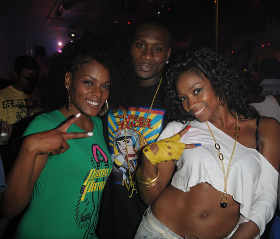 Mika Means, Thomas Jones & D. Woods // D. Woods' Birthday Party at Club Dream in Miami