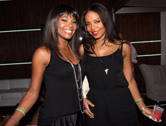 Gabrielle Union & Sanaa Lathan // 2009 Essence Music Festival (Day 1)
