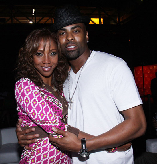 Holly Robinson Peete & Ginuwine // 2009 Essence Music Festival (Day 1)