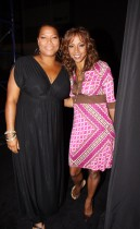 Queen Latifah & Holly Robinson Peete // 2009 Essence Music Festival (Day 1)