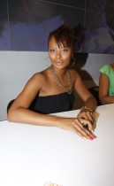 Eva Marcille // 2009 Essence Music Festival (Day 1)