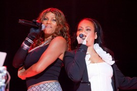 Salt N Pepa // 2009 Essence Music Festival (Day 1)