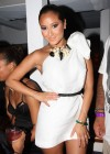 Adrienne Bailon // Bailon attends the Rush Philanthropic Arts Foundation's 10th Anniversary Art For Life Benefit after party (July 18th 2009)